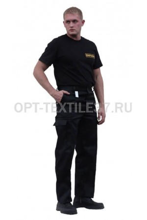 Рабочие брюки чёрные