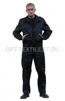 Брюки охранника чёрные