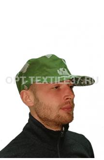 Кепка зелёный пиксель
