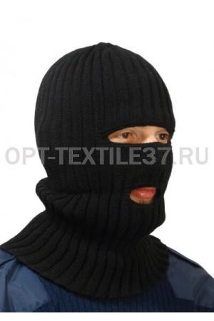 Шапка маска чёрная.