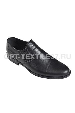 Летние Офицерские туфли из натуральной кожи