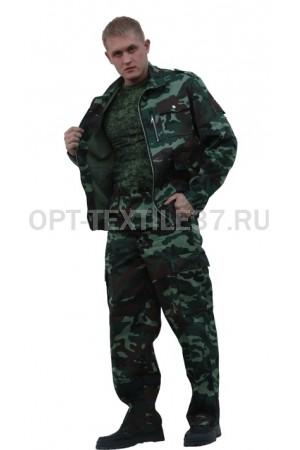 Костюм охранника КМФ зелёный.