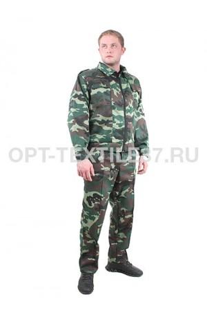 Костюм охранника зеленый камуфляж