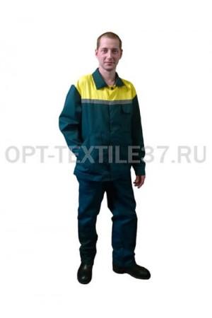 Костюм рабочий Стандарт из саржи.