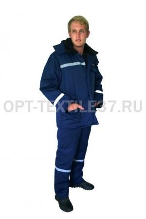 Зимний рабочий костюм мужской