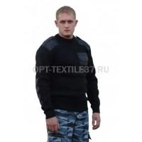 Форменный свитер чёрный