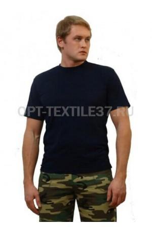 Синяя футболка мужская.