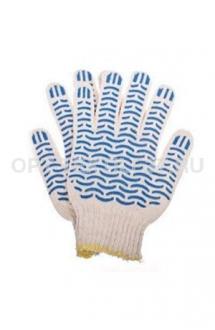 Перчатки волна белые