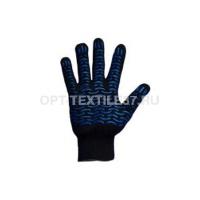Перчатки волна чёрные
