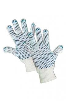 Перчатки хб ПВХ 4-х нитка
